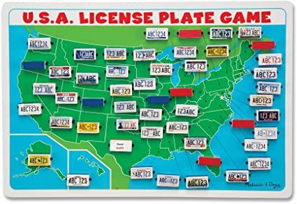 License Plate Game Printable Momsminivan Com